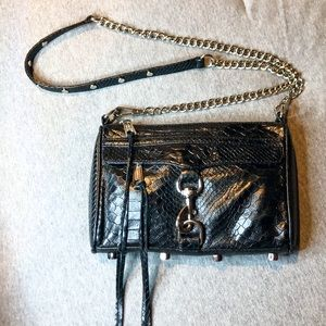 Rebecca Minkoff Embossed Leather MAC Crossbody